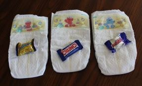 silly dirty diaper baby shower game