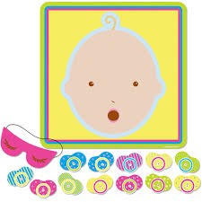 silly pacifier baby shower games