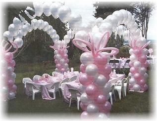 Baby Shower Balloon Decorating Ideas